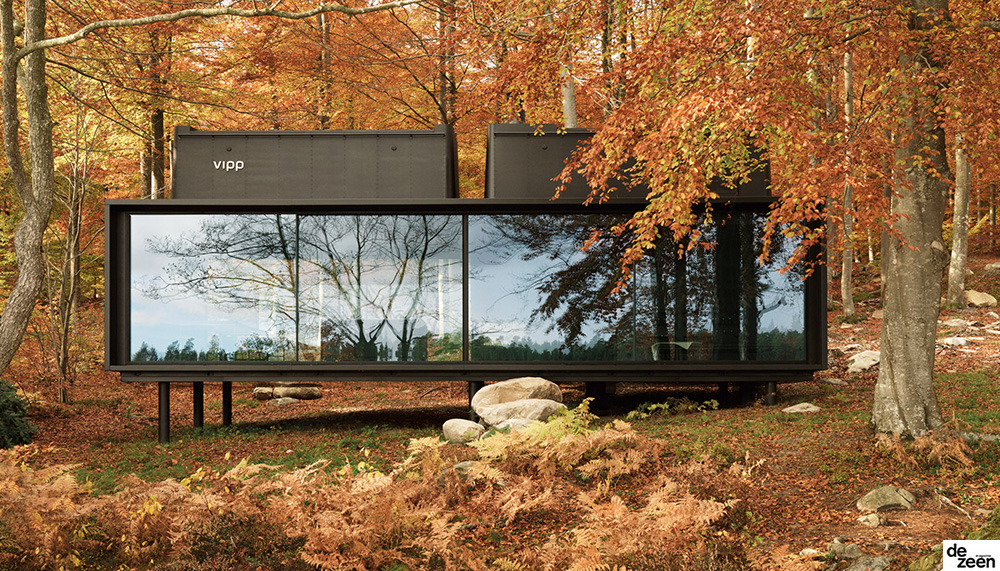 Vipp prefabricated cabins designed as