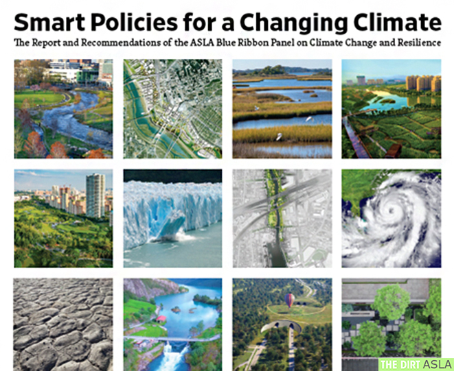ASLA Report and Recommendations: Smart Policies for a Changing Climate