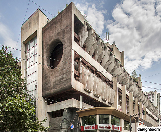 Soviet architecture heritage in georgia depicted by roberto conte and stefano perego
