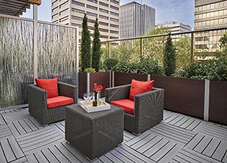 deepstream planters receptacles wall systems and custom fixtures incorporate deceptively